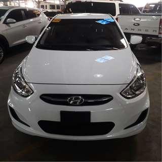 2017 Hyundai Accent 1.4GL White MT Gas