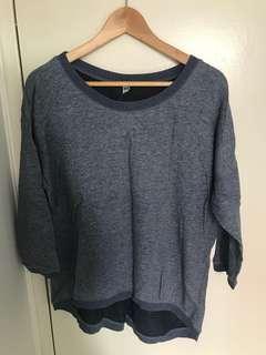 Blue Uniqlo Sweater