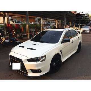 【FB搜尋桃園阿承】三菱 超人氣FORTIS頂級 2014年 2.0 白色 二手車 中古車