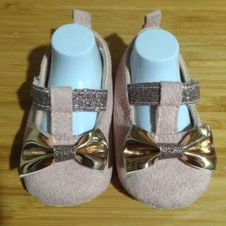 Crib Couture Soft Soles Pink