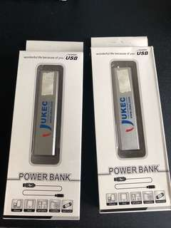 2x Powerbank