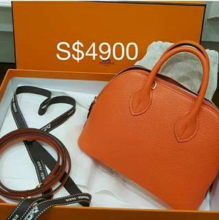 eb93752a8e53 ... coupon code for hermes mini bolide in orange 1509a 68bd3