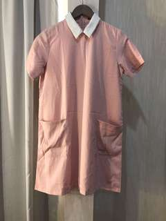 Playwear dress casual pink