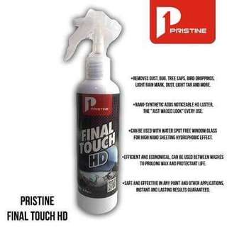 Pristine final touch HD