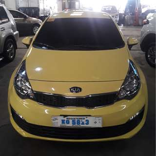2017 Kia Rio 1.4 EX Yellow limited color MT