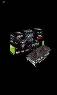 ASUS STRIX GTX1060 OC 6GB