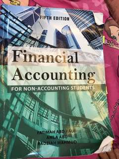 FINANCIAL ACCOUNTING/ INTRODUCTION TO ACCOUNTING