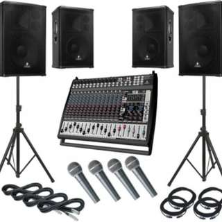 Affordable Audio for Events - SVEffex.com
