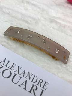 New Alexander Zouari hair chip