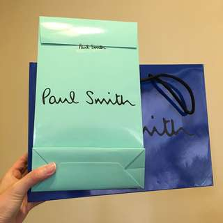 Paul Smith Paper Bag 紙袋2個