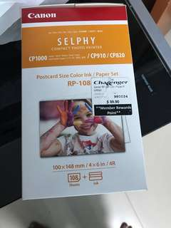 Canon Selphy Printer Photo Paper