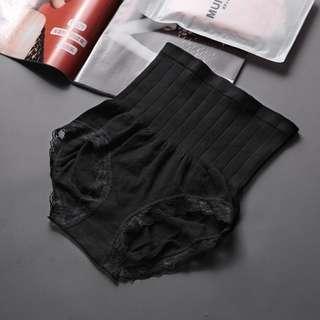 Cotton women hight waisted underwear