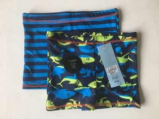 F&F 2-pc swim shorts (size 4T) - BNWT