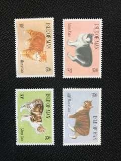 無尾貓郵票
