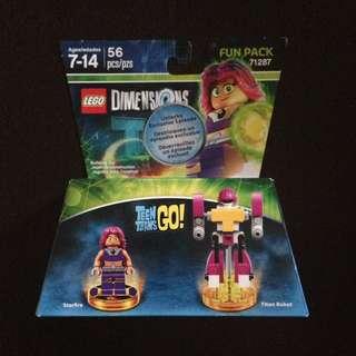 Lego Dimensions - Teen Titans Go! (Starfire & Titan Robot) Fun Pack