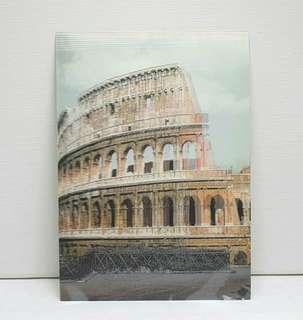 Vintage 3d Lenticular Postcard - Coliseo Romano