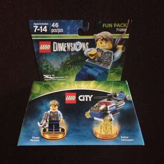 Lego Dimensions - City (Chase McCain & Police Helicopter) Fun Pack