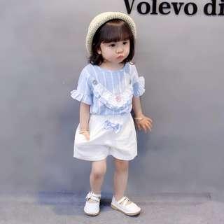 Little Princess Girl Set Blue