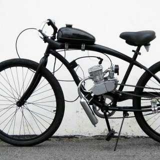 Modified bicycle,自行車改裝, 高雄市區可代客安裝費用1500【只賣組件不含自行車】