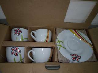 Cup set and saucer isi 8