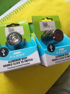 D light bicycle lights