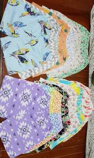 Assorted Shorts pambahay for girls 3 to 5 years old