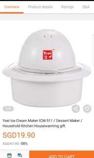 Yoei Ice Cream Maker
