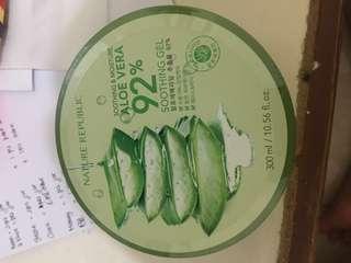 Aloe Vera 92% Soothing Gel 300ml