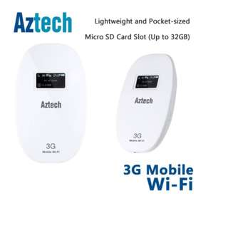 Aztech MWR638 3G Mobile Wi-Fi Egg Portable wifi router