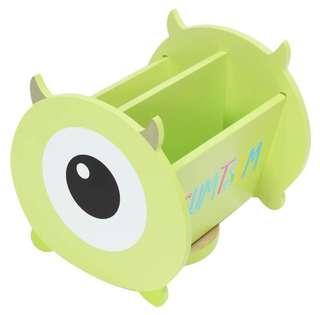 🚚 迪士尼TSUMTSUM大眼仔旋轉收納盒 置物盒 桌上盒 小物盒 筆筒