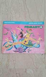 Yamaha primary 4 junior music course