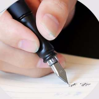 Calligraphy Pen with 10 units of Refill