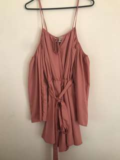 Tigermist Dusty Pink Playsuit