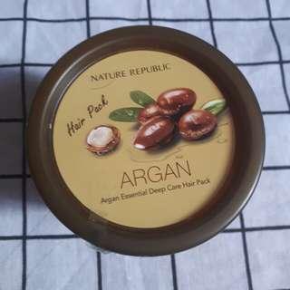Nature Republic Argan Essential Hair Pack (Mask)