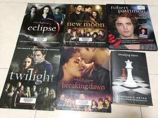 Twilight books for rm40