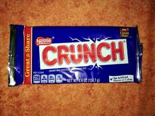 Crunch Chocolate Bar