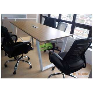 MFC-0729 CUSTOMIZE CONFERENCE TABLE 190X80cm--KHOMI