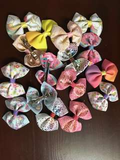 Handmade Bows for your kids
