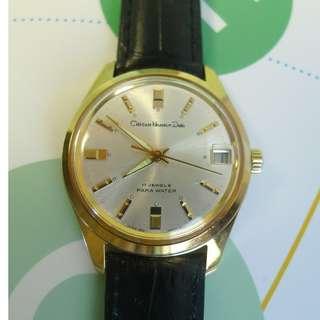 Citizen Homer Date 17-J Para Water hand-winding watch
