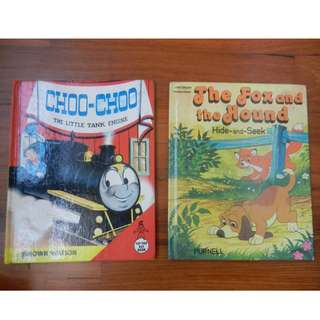Choo-Choo The Little Tank Engine / The Fox and the Hound / Precious Friendship / Thomas Tortoise