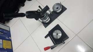 Button Badge Maker + Cutter 58mm