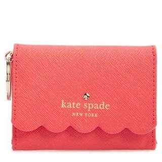 Kate spade scallop wallet