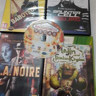Brand New PC games + Movie DVDs!! Used Xbox games exclude postage