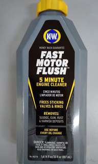 K&W Engine Flush
