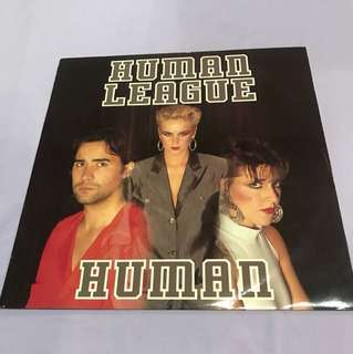 "Vinyl Record Human League - Human 12"" Single"