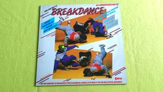 "BREAKDANCE . you can do it ! . Feature ALEX & THE CITY CREW ( learn to moonwalk, bodypop & electric boogie ( includes 22"" x 36"" color poster & instructional rap) vinyl record"