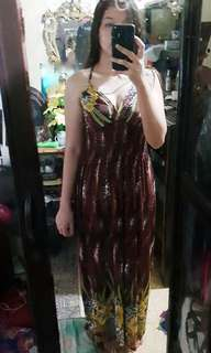Maxi Dress ideal for Beach/Hawaiian Party
