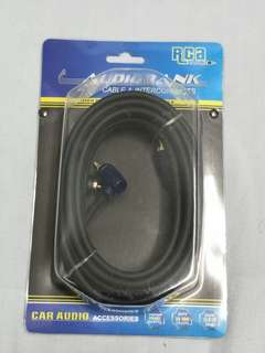 RCA car amp cable