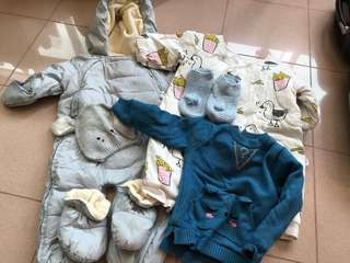 Assorted Winter Clothes for Baby Boy
