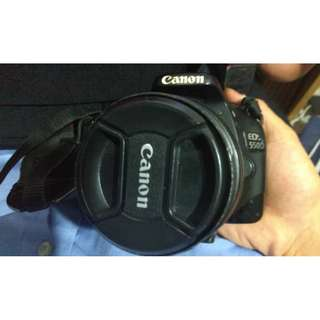 Canon EOS 550D - Condition 8/10- SET Lengkap -Lens 18 - 55